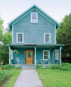 Two years after the storm, Bettina's 1890s cottage is good as new.