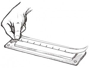 Measure the mail slot