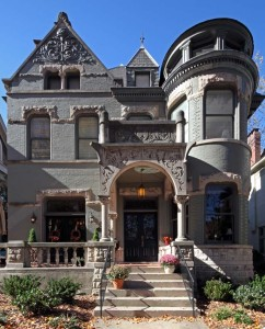 Richardsonian/Queen Anne house