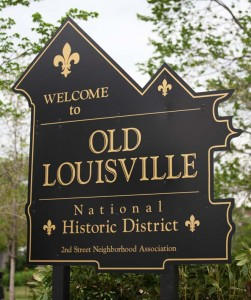 The Old Louisville Historic District contains 1,400 structures.