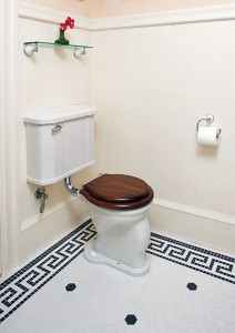 Keeping an old toilet running smoothly means keeping an eye out for its quirks.