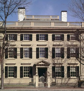 The 1782 Peirce–Nichols house in Salem was designed and built by Samuel McIntire.