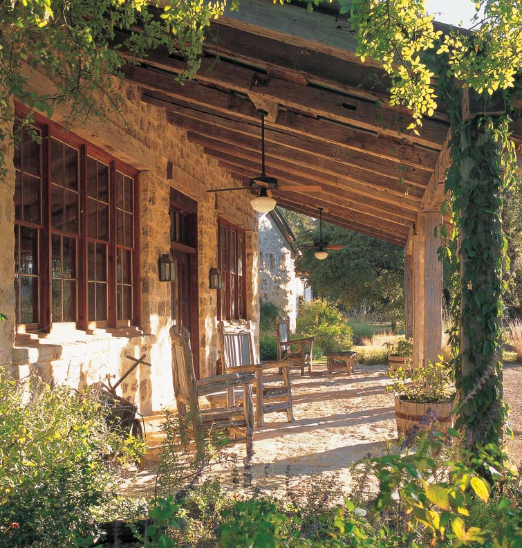 An authentic german stone house old house online old for Stone house plans with porch