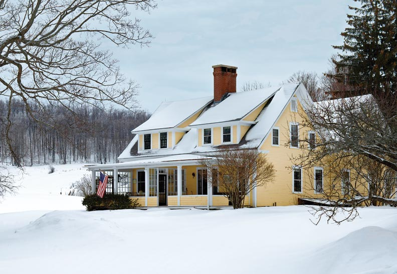 A Vermont Farmhouse Evolves Over Time Old House line Old House line