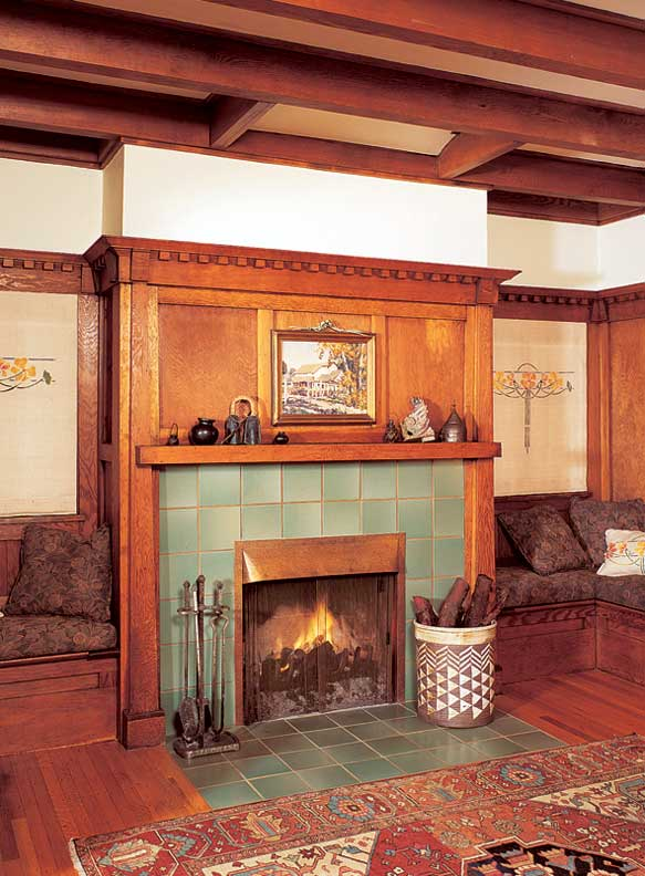 The History Of The Fireplace Old House Online Old House Online