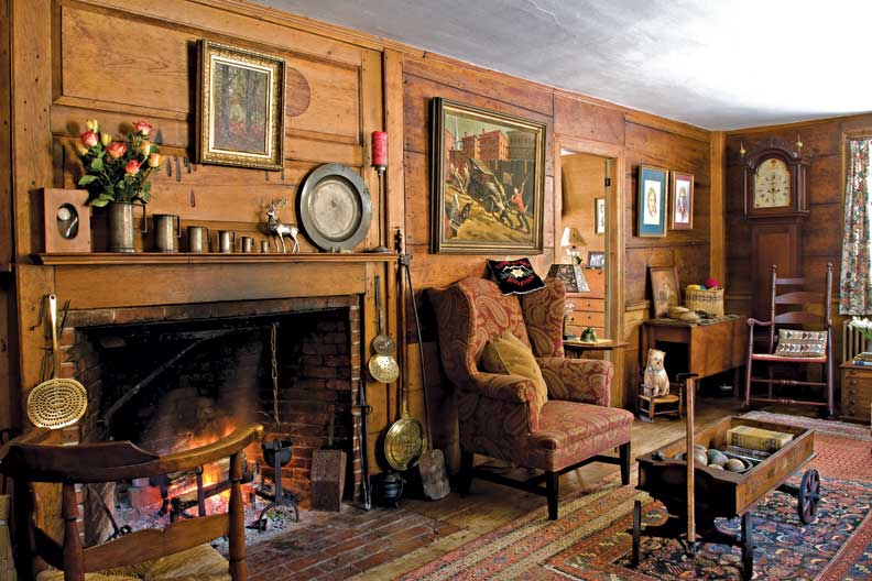 The History Of Fireplace Old House Online Old