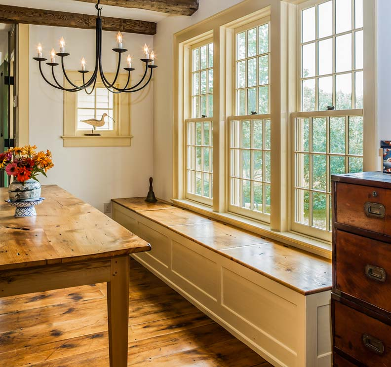 Kitchen Windows: Traditional Kitchen In A New Addition