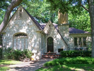 Stone cottage in Pemberton Heights, Austin, Texas