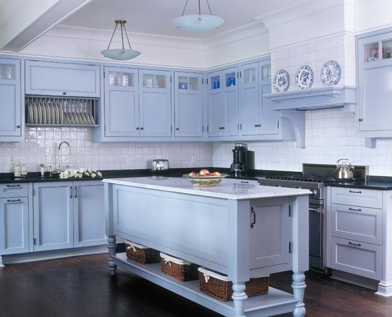 Shaker Style Gray Kitchen Old House Online Old House
