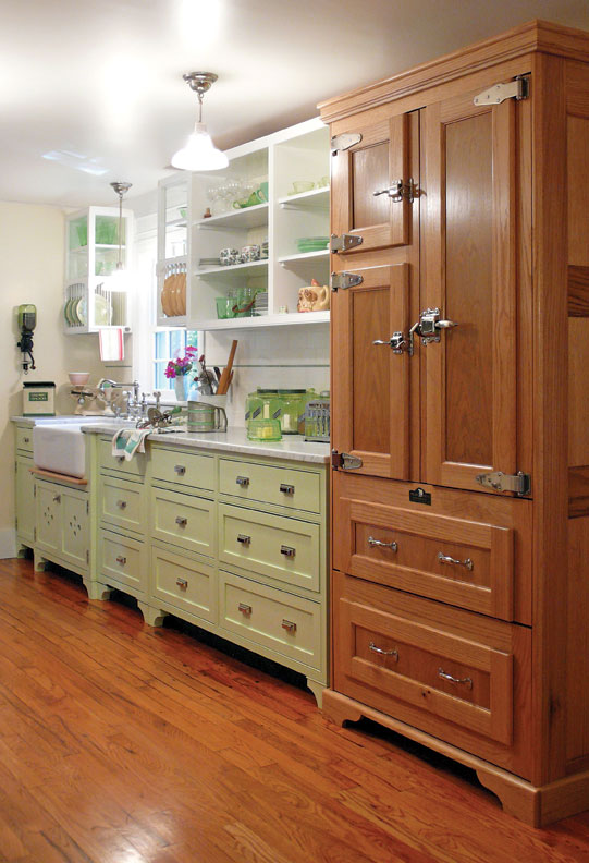 6 ways to hide kitchen appliances old house online old house online. Black Bedroom Furniture Sets. Home Design Ideas