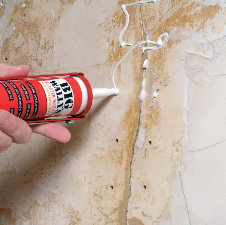 Spray On Plaster For Walls : How to patch plaster walls old house online