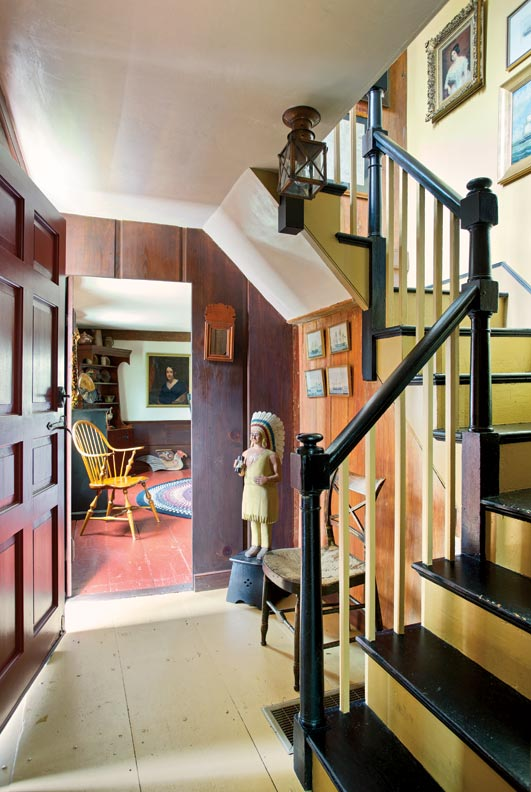 Bruce House Foyer : Saving a th century new england house old online