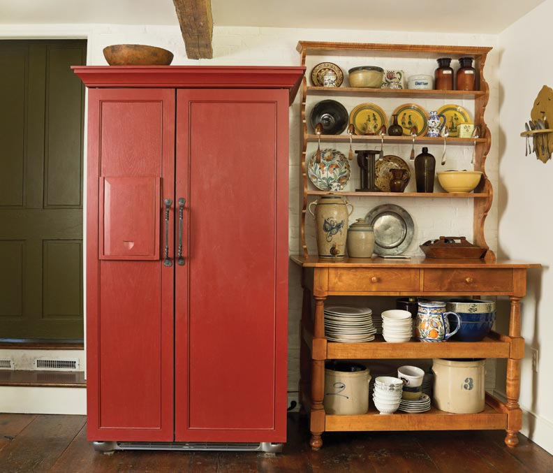 Restoring a historic federal house in maryland old house for Restoring old kitchen cabinets