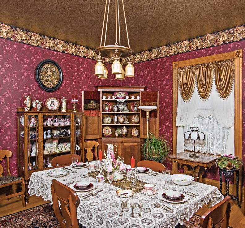 Rescuing a folk victorian family home old house online for Victorian house dining room ideas