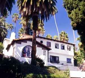 Spanish Colonial house in Whitley Heights, Los Angeles