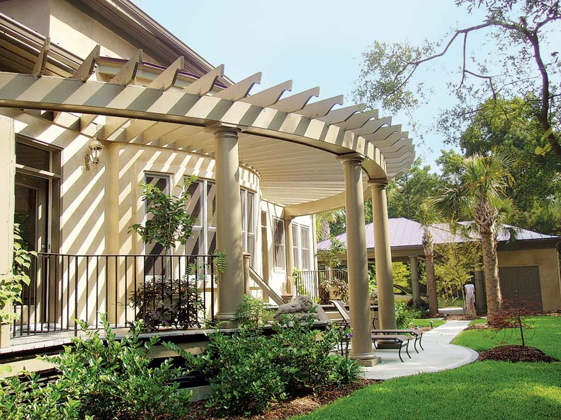 Pergola designs for old house gardens old house online for Pergola designs
