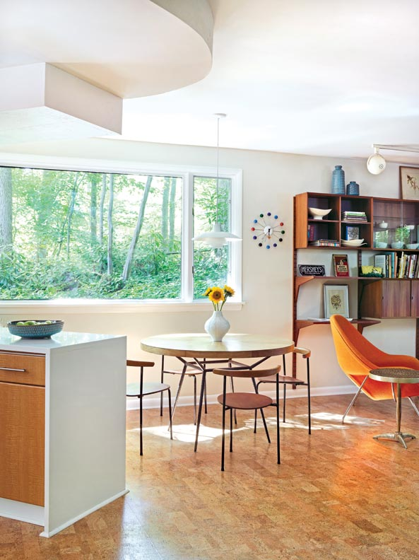 A mid century modern marvel in delaware old house online for Mid century online