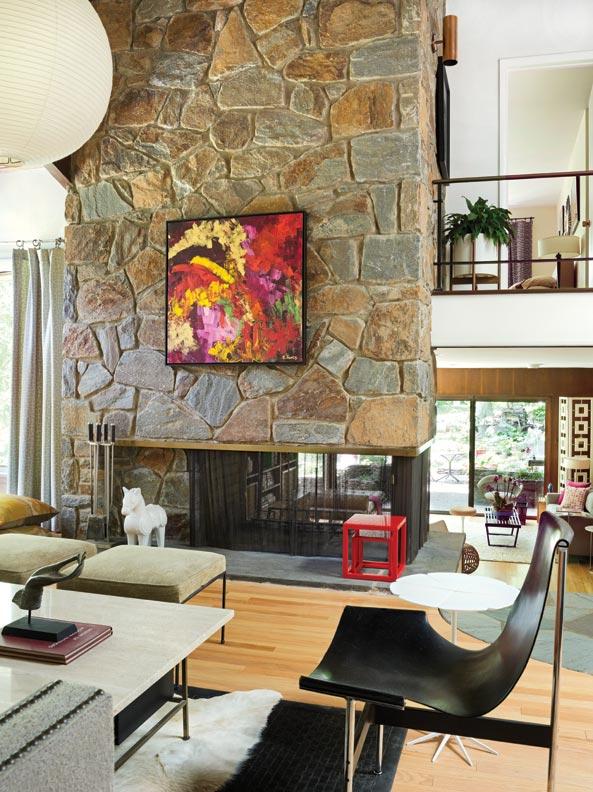 a mid century modern marvel in delaware old house online old house online. Black Bedroom Furniture Sets. Home Design Ideas