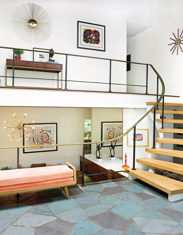 Mid Century Modern Foyer : A mid century modern marvel in delaware old house online
