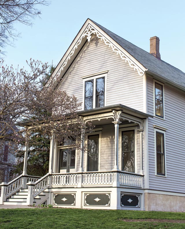 Re creating an italianate porch old house online old for Italianate homes for sale
