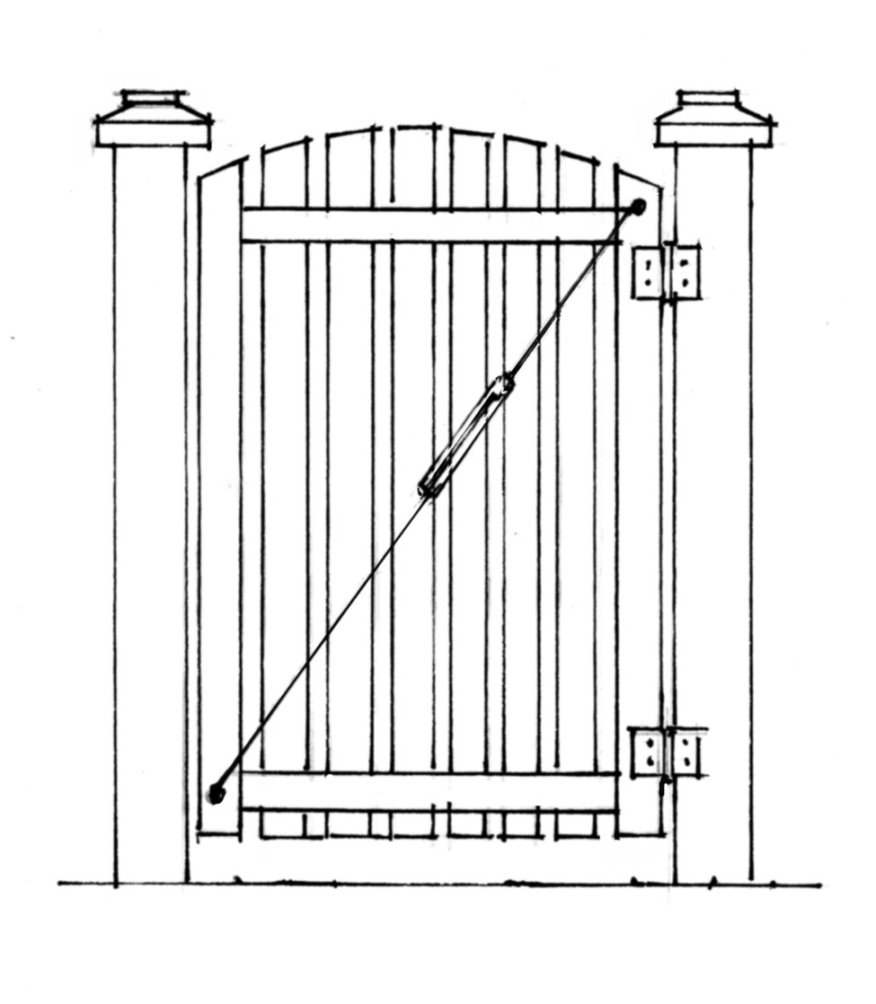 How To Build A Gate That Doesn T Sag Old House Online