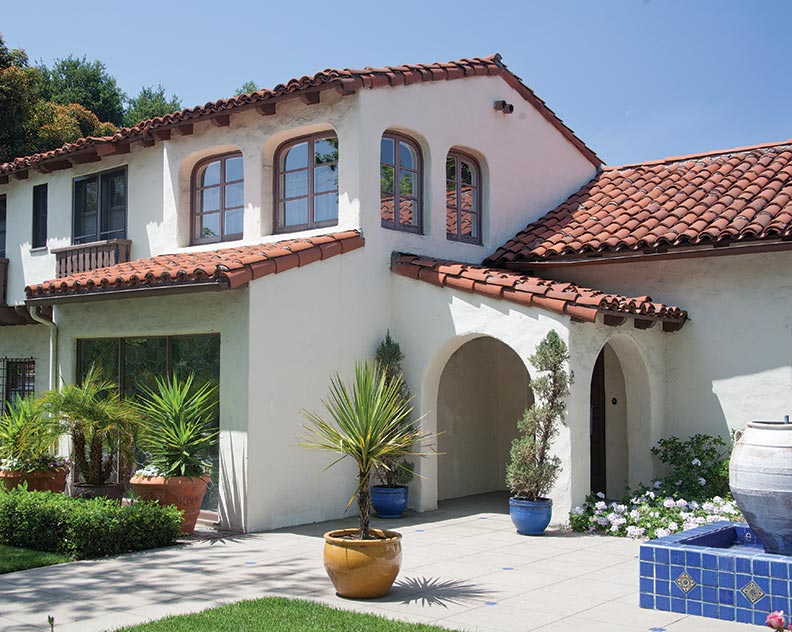 The best roofing materials for old houses old house for Spanish style roof tiles