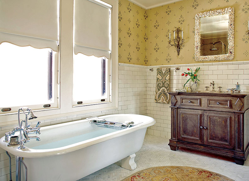 Guide to 20th century bathroom tile old house online for Bathroom ideas 1920s home