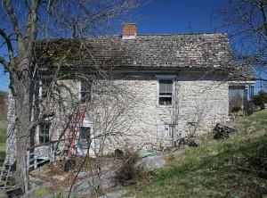 1755 German Hupp House in Strasburg, Virginia