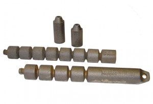 Cast iron sash weights from Architectural Iron