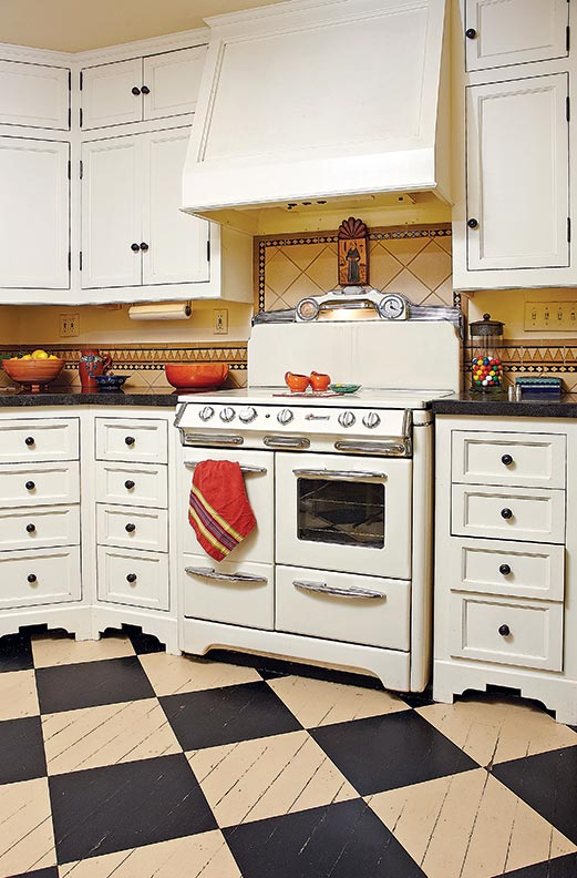 The best flooring choices for old house kitchens old for 1930s kitchen floor