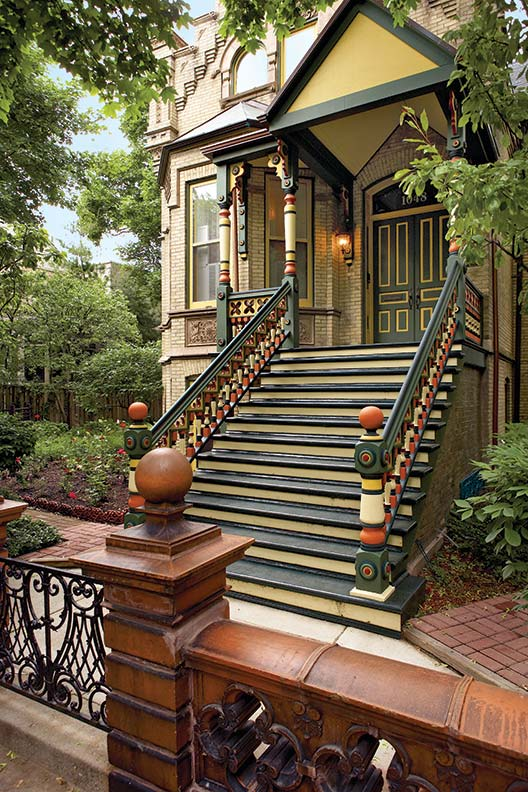 12 rules for victorian polychrome paint schemes old house online old house online for Victorian exterior color schemes