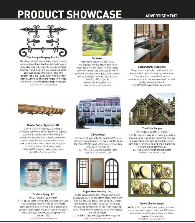 Product Showcase Page 3