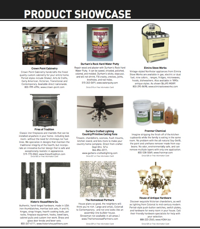 Product Showcase Page 4