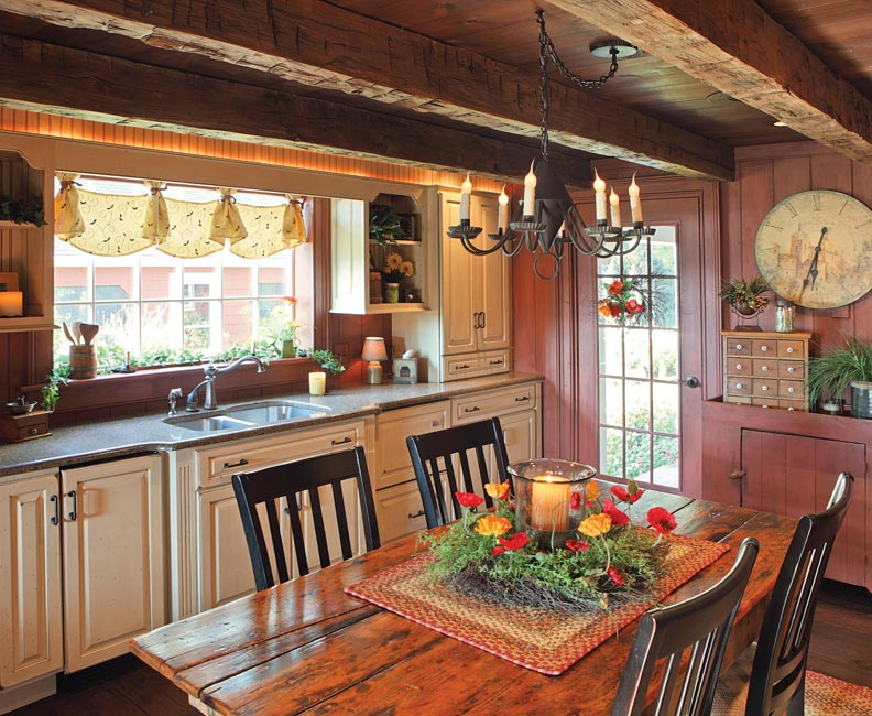 8 Ways To Design A Kitchen For An Early House Old House Online Old House Online