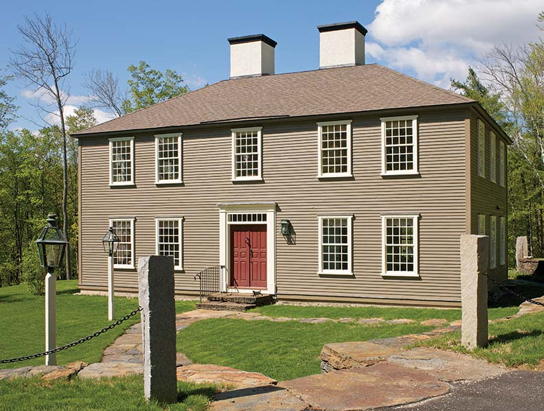A Reproduction Georgian House In Massachusetts Old House