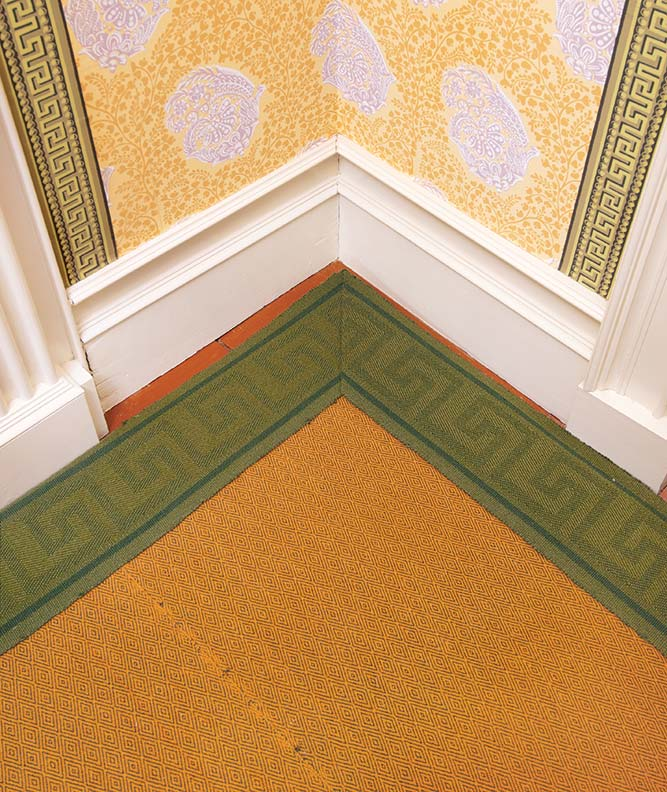 Uncommon Carpets for Early Homes - Old-House Online - Old ...