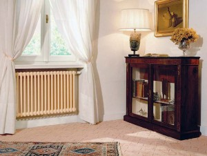 Radiators provide wonderful warmth. New models from Runtal fit a variety of old houses.
