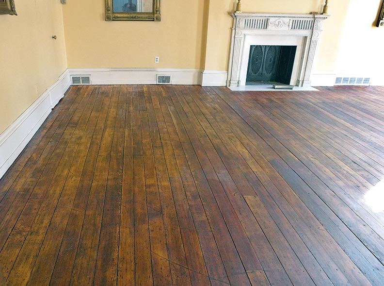 How to hand scrape wood floors old house online old for Online floor