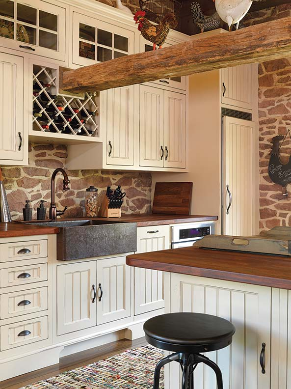 Barn House Sink : ... Stone Barn into a House - Old-House Online - Old-House Online