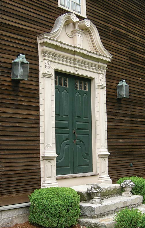 Guide to old doors old house online old house online for Colonial entry door
