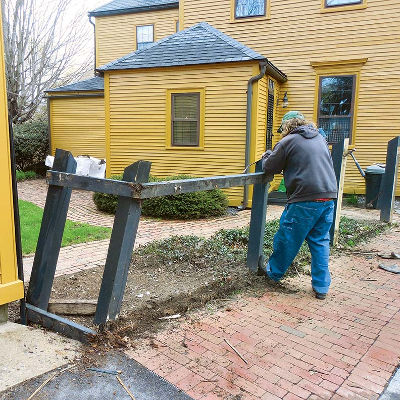 how to build a historic fence old house online old