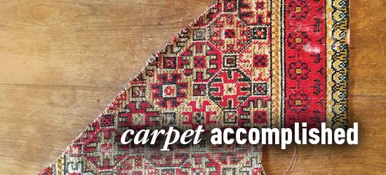 carpet, carpet fragment, runner