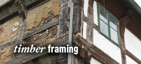 timber framing, old house journal
