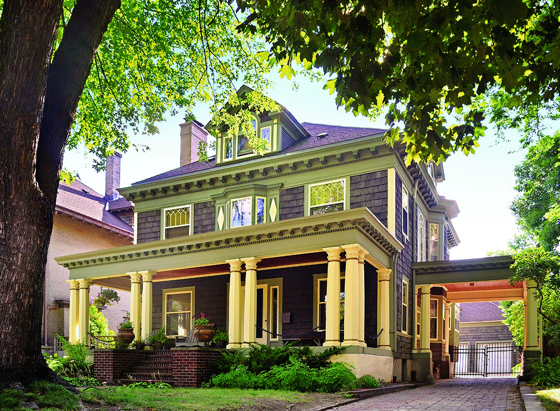 Tailoring a foursquare old house online old house online for American foursquare homes for sale