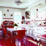 Thumbnail image for A Mid-Century Kitchen in Red