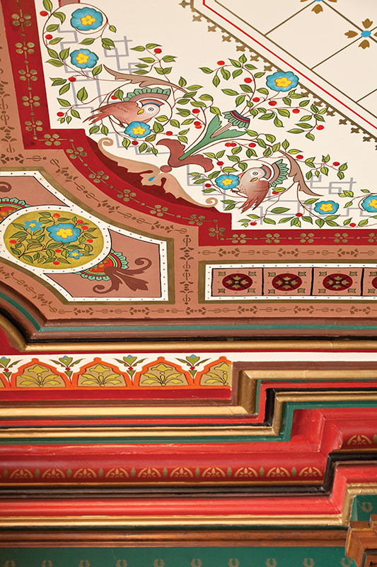 The Decorated Ceiling - Old-House Online - Old-House Online