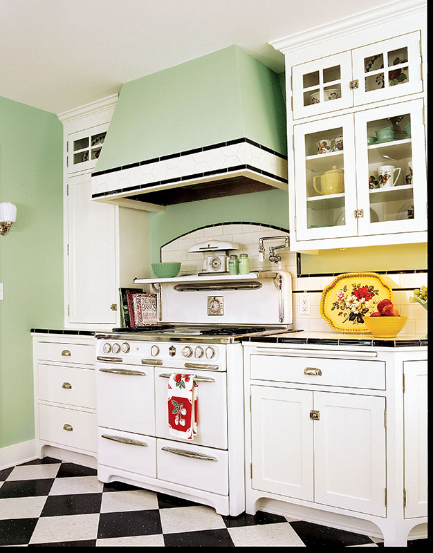 Keeping Kitchen Old House Online