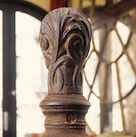 Post image for Step Up with a Cast Iron Newel