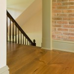 Traditional wide plank pine