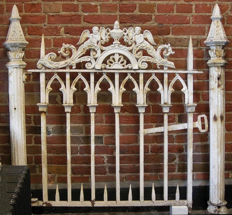 A Gothic Bed From Garden Fencing Old House Online Old